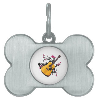 Bed of Roses Pet Name Tag