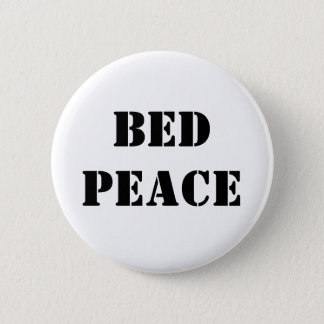 Bed Peace 2 Inch Round Button