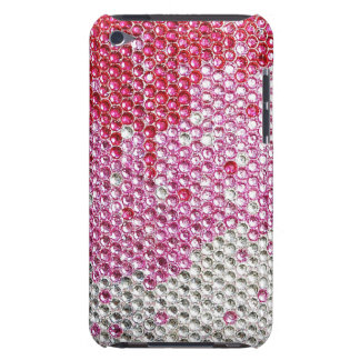 BEDAZZLED IN PINK Barely There iPod Touch Case
