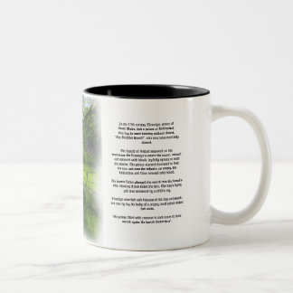 Beddgelert and Legend Two-Tone Coffee Mug