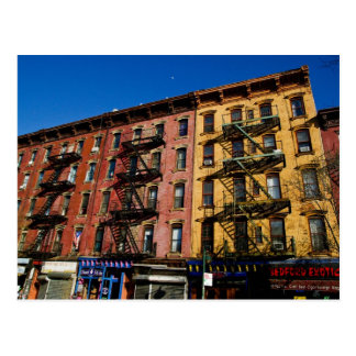 Bedford Ave. Buildings postcard