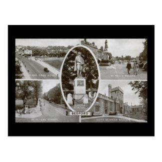 Bedford, England UK Vintage Postcard