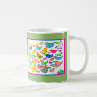 Bedlam of Birds Coffee Mug