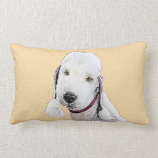 Bedlington Terrier 2 Lumbar Pillow