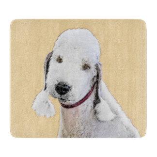Bedlington Terrier 2 Painting - Original Dog Art Boards