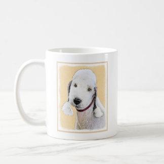Bedlington Terrier 2 Painting - Original Dog Art Coffee Mug