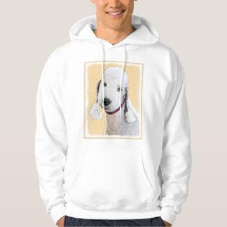 Bedlington Terrier 2 Painting - Original Dog Art Hoodie