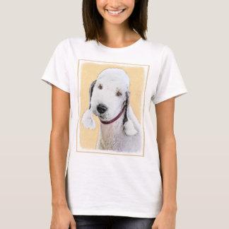 Bedlington Terrier 2 Painting - Original Dog Art T-Shirt