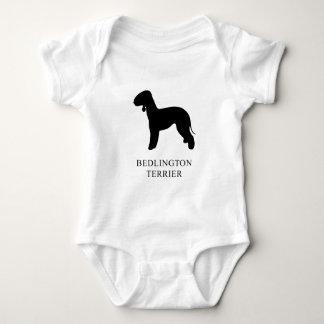 Bedlington Terrier Baby Bodysuit