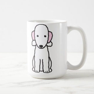 Bedlington Terrier Dog Cartoon Coffee Mug
