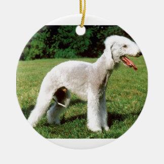 Bedlington Terrier Dog Ceramic Ornament