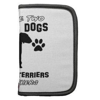 Bedlington Terrier dog designs Planner