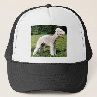 Bedlington Terrier Dog Trucker Hat