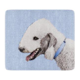 Bedlington Terrier Painting - Original Dog Art Boards