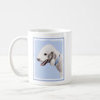 Bedlington Terrier Painting - Original Dog Art Coffee Mug