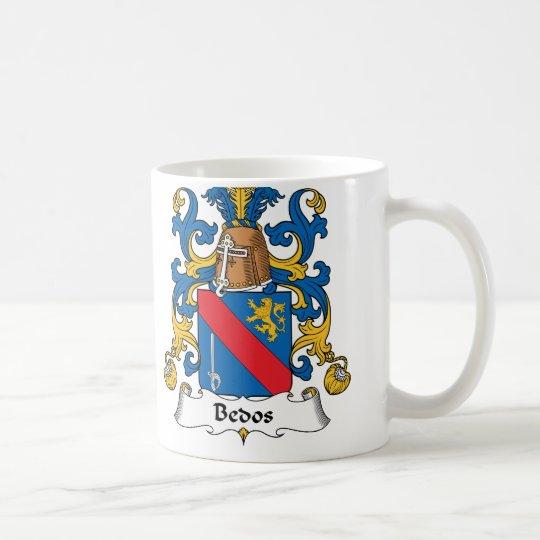 Bedos Family Crest Coffee Mug