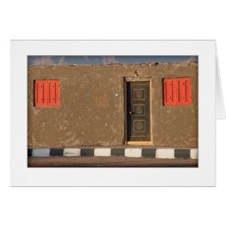 Bedouin House Greeting Card