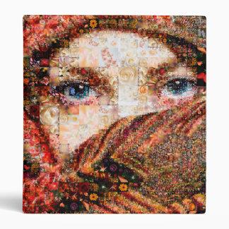 Bedouin woman-bedouin girl-eye collage-eyes-girl binder