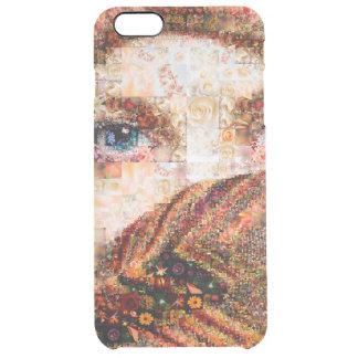 Bedouin woman-bedouin girl-eye collage-eyes-girl clear iPhone 6 plus case