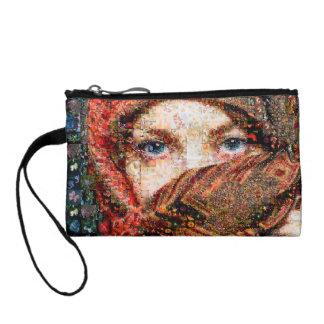 Bedouin woman-bedouin girl-eye collage-eyes-girl coin purse