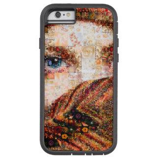 Bedouin woman-bedouin girl-eye collage-eyes-girl tough xtreme iPhone 6 case