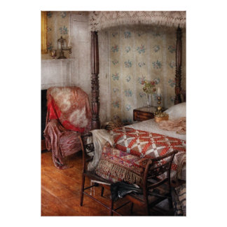 Bedroom - A place to sleep Poster