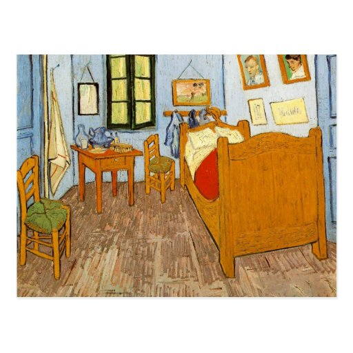 Bedroom in Arles by Vincent van Gogh Post Card