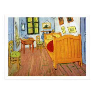 Bedroom in Arles by Vincent van Gogh Postcard