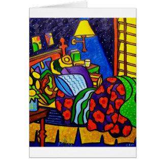 Bedroom in Color Card