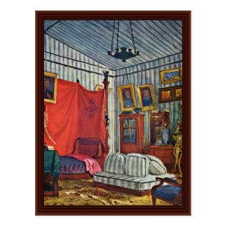 Bedroom Of Count De Mornay Postcard