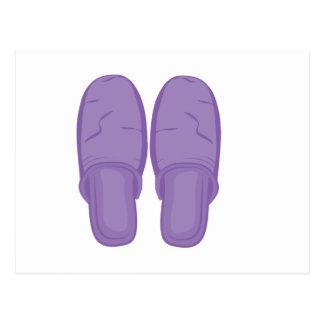 Bedroom Slippers Postcard