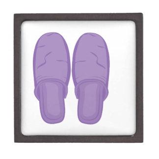 Bedroom Slippers Premium Trinket Box