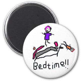 Bedtime! 2 Inch Round Magnet
