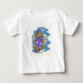 Bedtime Bear Angel Baby T-Shirt