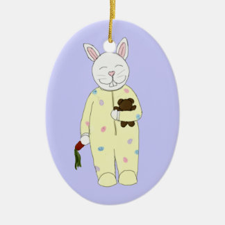 Bedtime Bunny Ornament