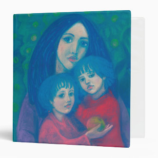 Bedtime fairytale, mother& kids art mothers day binders