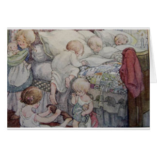 Bedtime for Children - Card