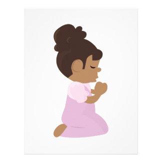 Bedtime Prayers Letterhead