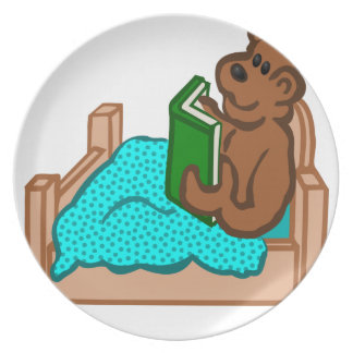 Bedtime Story Plate