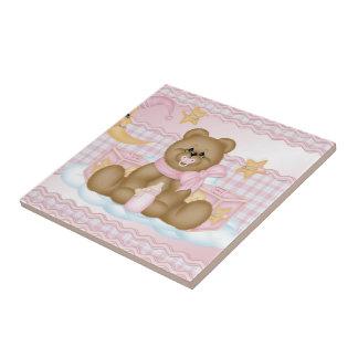 Bedtime Teddy P Ceramic Tile