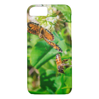 Bee and Butterfly iPhone 8/7 Case