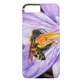 Bee and Crocus Art iPhone 7 Plus Barely There Case