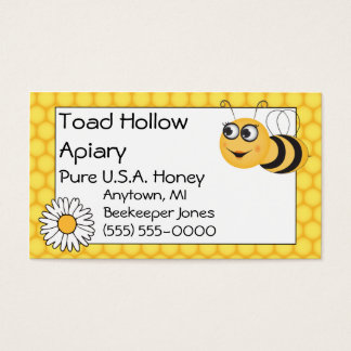 Bee and Daisy Business Card