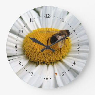 bee and daisy clocks