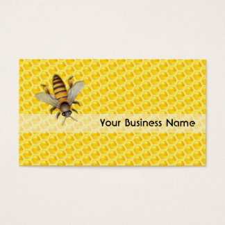 Bee and Honeycomb business card