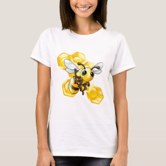 Bee and honeycomb T-Shirt
