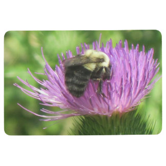 Bee And Thistle Floor Mat