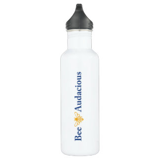 Bee Audaciously Hydrated - 24oz of Refreshment 710 Ml Water Bottle