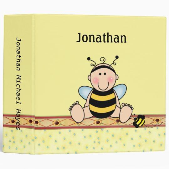 Bee Baby Binder