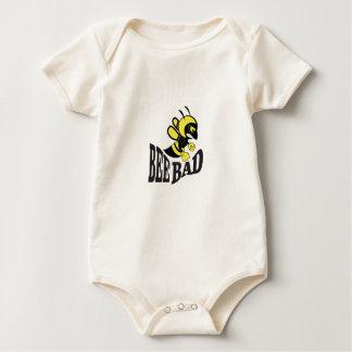 bee bad mean baby bodysuit